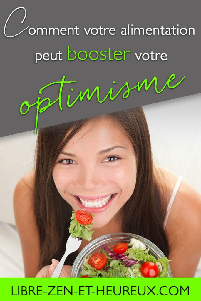 Comment votre alimentation peut booster votre optimisme